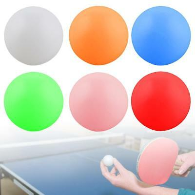 10PCS Table Tennis Balls Advanced Ping Pong Balls for Training Multiple Color