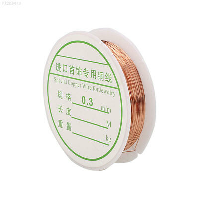 B528 0.3/0.4/0.5/0.6/0.8/1mm Copper Wire Jewellery Making Beading Wrapping Tools