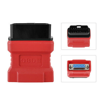 Original OBD2 OBDII 16pin Adapter Connector For Autel MaxiDAS DS708 Scanner Tool