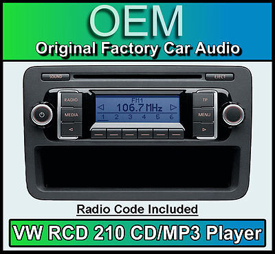 vw up dab autoradio vw rcd 215 dab digital radio cd mp3. Black Bedroom Furniture Sets. Home Design Ideas