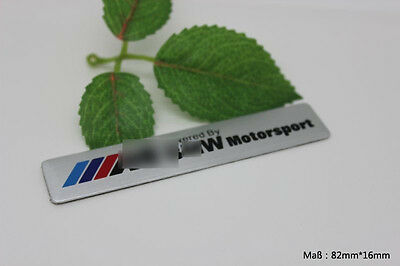 D291 M Motorsport for bmw Auto 3D Emblem Badge Aufkleber PKW KFZ Car Sticker