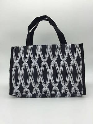 Thirty one all in one mini tote hand organizer bag 31 gift in black links e