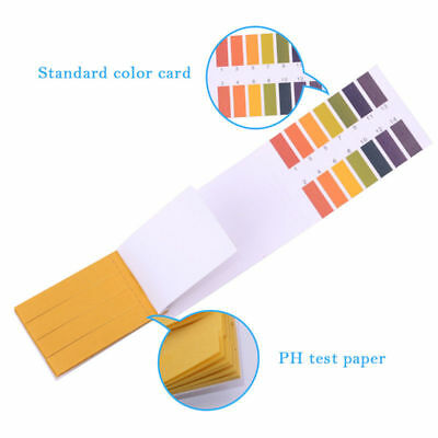 80 x pH 1-14 Universal Full Range Litmus Test Strips Tester Indicator Urine