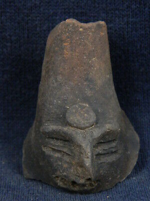 Ancient Teracotta Head Indus Valley 600 BC No Reserve  #TR695