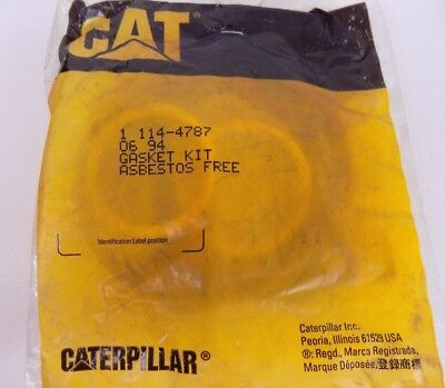 Caterpillar 114-4787 GENUINE GASKET KIT New Old Stock in Package CAT OEM!