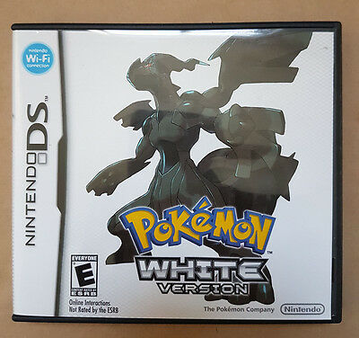 Pokemon White Version Nintendo DS Game NDS Excellent Condition