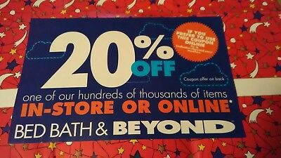 BED BATH &BEYOND 20% off coupon x1 only delivered in a message.(code with pic)