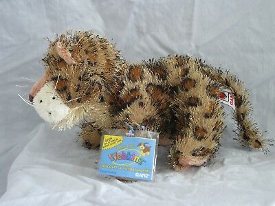 Brand New Webkinz Leopard HM031 with Sealed Unused Codes Attached to Plush