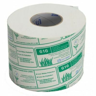 ECOSOFT Baywest/North Shore Toilet Rolls - 18, 36 or 72 Rolls - Free Delivery