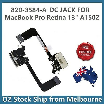 "DC Jack Charging Board 820-3584-A for A1502 MacBook Pro 13"" Retina 2013 2015"