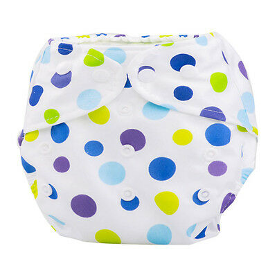 US Newborn Baby Summer Cloth Diaper Cover Adjustable Reusable Washable Nappy