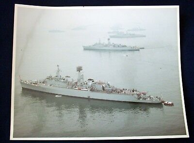 Queen Elizabeth II Royal Review of the Fleet 28th June 1977 - Official Picture
