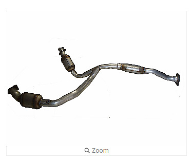 Ultra Exhaust 41936 Direct Fit  Front Catalytic Converter