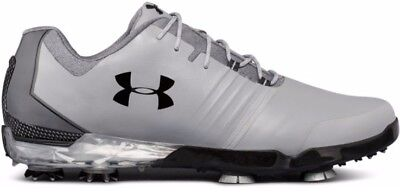 ac5f22fa193330 Under Armour Jordan Spieth Match Play Steel Black Golf Shoes Mens Multiple  Size