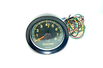 Accutronic A1423-80-7 Mechanical Tach Tachometer 8000Rpm 3 3/4'' Face Not Tested