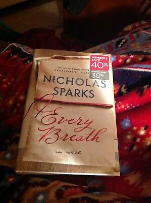 EVERY BREATH by NICHOLAS SPARKS 2018 Hardcover HC Brand New USA FREE SHIPPING