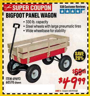 Harbor Freight Wagon The