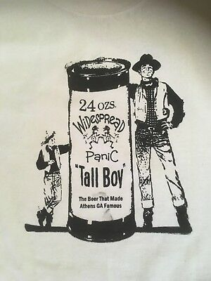 Widespread Panic Tall Boy Large T shirt
