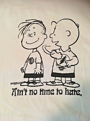 Grateful Dead & Phish Aint No Time to Hate. XL T shirt Natural Color