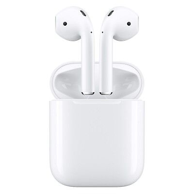 New Apple AirPods - White MMEF2AM/A Genuine Airpod Retail Box Sealed. Ships Fast
