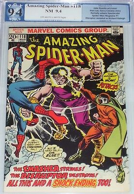 Amazing Spider-Man #118 PGX/CGC graded 9.4 from March 1973