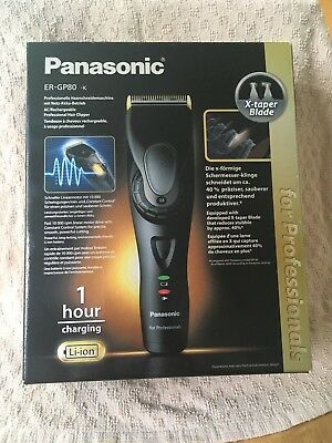 Panasonic ER-GP80 AC/Rechargeable Professional Hair Clipper Brand New In Box
