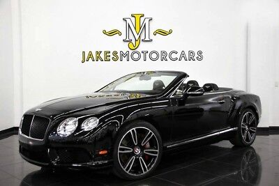 2014 Bentley Continental GT GTC V8 MULLINER ($233,665 MSRP)