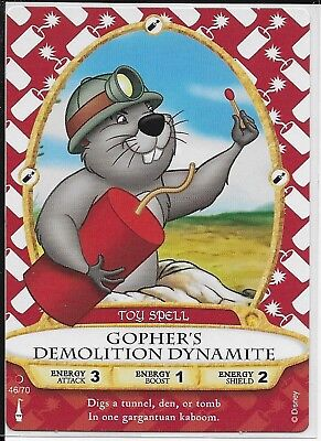 Disney Sorcerers of the Magic Kingdom Card 46 Gopher's Demolition Dynamite