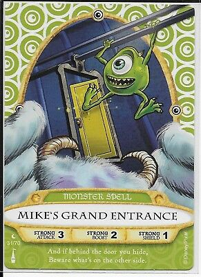 Disney Sorcerers of the Magic Kingdom Card 31 Mike's Grand Entrance