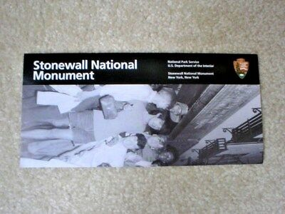 STONEWALL NATIONAL MONUMENT Brochure - National Park Service - New Condition
