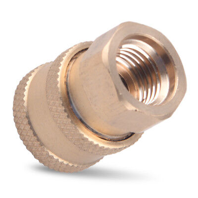 """Pressure Washer 1/4"""" Female NPT Brass Connect Socket Adapter Coupler Watering"""
