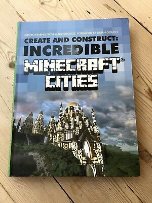 Brand New Minecraft Create & Construct Incredible Minecraft Cities By Strovoz