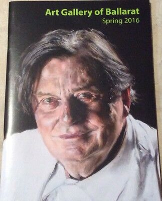 Promotional Booklet For The Art Of Ballarat 2016 Archibald Prize Barry Humphries