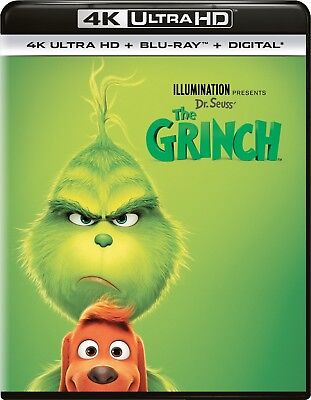 Dr. Seuss' The Grinch (4K Ultra HD)(UHD)(Dolby Vision)(Atmos)