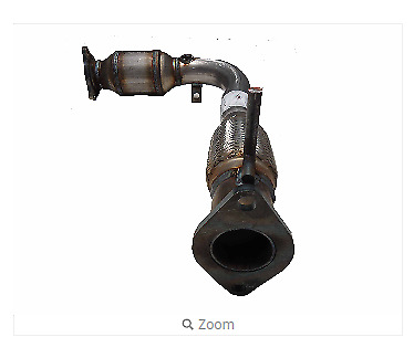 Ultra Exhaust 4196 Direct Fit Front Catalytic Converter