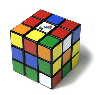 Rubiks Cube 3x3 Original Rubik's Traditional Education Fun Toy Game Puzzle Ideal