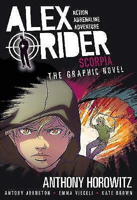Scorpia Graphic Novel (Alex Rider)-ExLibrary