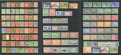 Turks & Caicos Islands QV - GVI MM & Used. Cat approx £500