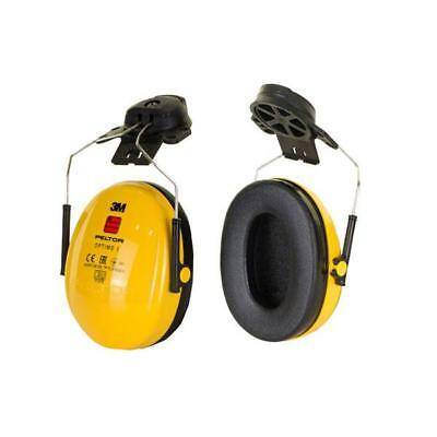 Peltor Optime 1 Helmet Mounted Ear Defenders 26dB Yellow Ref H510P3E-405-GU