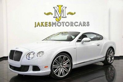 2014 Bentley Continental GT Speed ($248,575 MSRP!!) ~ SPECIAL ORDERED CAR! 2014 CONTINENTAL GT SPEED~ $248,575 MSRP! ~SPECIAL ORDERED CAR~ ICE ON HOTSPUR
