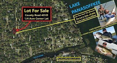 Home Lot .39 Mile to Lake Panasoffkee Florida - Near The Villages in Sumter Cnty