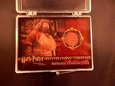 Harry Potter and the Sorcerer's Stone Hagrid's Shirt Costume Card Prop Card SS +