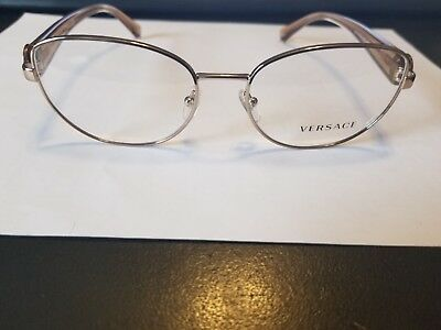 ddfdf91bd9c38 AUTHENTIC VERSACE EYEGLASSES VE1246-B COLOR 1052 Frames 54mm Rx-ABLE ...