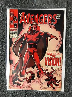 Avengers 57 - 1St Appearance The Vision - Key Silver Age !!