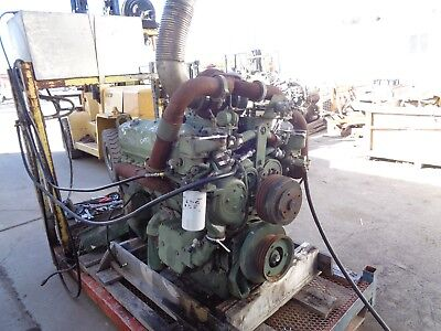 DETROIT 8V92 COMPLETE Engine (RUNS WELL) - Model 8087-7899 / 8VF 125436