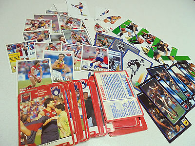 BULK FOOTBALL CARDS 1991 Stimorol, 94 series AFLPA,POP UP, STICKERS CAZALY 76tot
