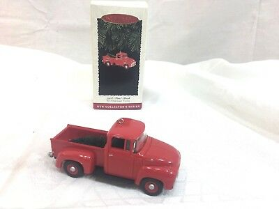 Hallmark Keepsake Ornament 1956 Ford Truck - All American Trucks Series  1995