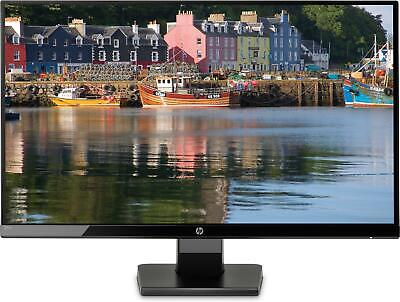 HP 27W Monitor Led 27'' 5ms Full HD IPS Retroilluminato A LED, Nero