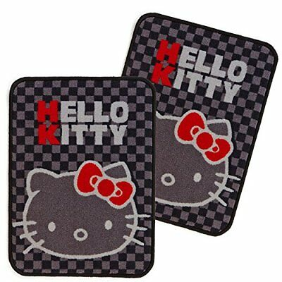 Sanrio Hello Kitty Car Accessory floor mat Love Hello Kitty Front mat 2 Pieces