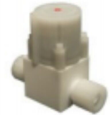 "Parker PV-20-08-1906-S3-R Pneumatic PTFE Distribution Valve, 1/2"" Body Size"